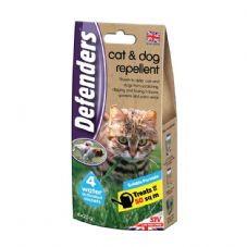 Defenders Cat & Dog Repellent - 4 x 25g